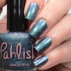 AVAILABLE AT GIRLY BITS COSMETICS www.girlybitscosmetics.com Nightmare Moon (Ponyville Collection) by Pahlish | Swatch  provided by Nail Polish OCD