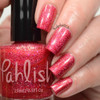 AVAILABLE AT GIRLY BITS COSMETICS www.girlybitscosmetics.com Cactus Rose (Desert Bloom Duo) by Pahlish | Swatch  provided by Nail Polish OCD