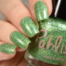 AVAILABLE AT GIRLY BITS COSMETICS www.girlybitscosmetics.com Prickly Pear (Desert Bloom Duo) by Pahlish | Swatch  provided by Delishious Nails