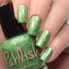 AVAILABLE AT GIRLY BITS COSMETICS www.girlybitscosmetics.com Prickly Pear (Desert Bloom Duo) by Pahlish | Swatch  provided by Nail Polish OCD