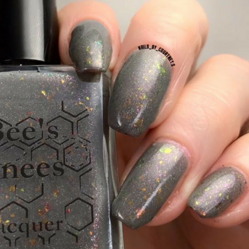 AVAILABLE AT GIRLY BITS COSMETICS www.girlybitscosmetics.com The Emperor (Arcana Chronicles Collection) by Bee's Knees Lacquer | Photo credit: nails_by_courtney.s