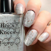 AVAILABLE AT GIRLY BITS COSMETICS www.girlybitscosmetics.com The Reaper (Arcana Chronicles Collection) by Bee's Knees Lacquer | Photo credit: @nails_by_courtney.s