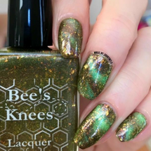 AVAILABLE AT GIRLY BITS COSMETICS www.girlybitscosmetics.com Fauna (Arcana Chronicles Collection) by Bee's Knees Lacquer | Photo credit: @nails_by_courtney.s