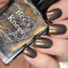 AVAILABLE AT GIRLY BITS COSMETICS www.girlybitscosmetics.com Lord of Graves (Assassin's Creed Collection) by Bee's Knees Lacquer | Photo credit: Cosmetic Sanctuary