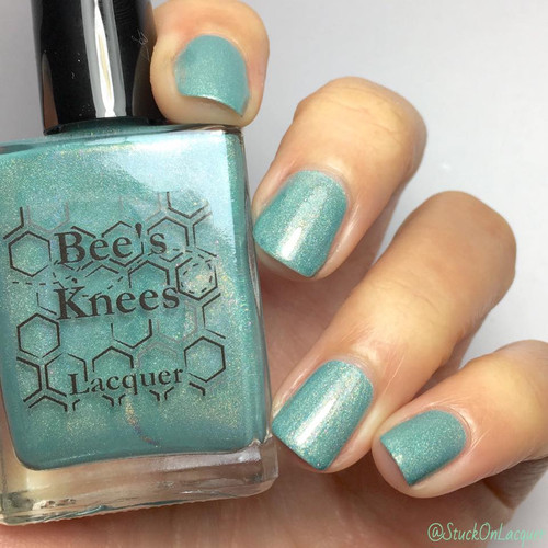 AVAILABLE AT GIRLY BITS COSMETICS www.girlybitscosmetics.com Pointed of Teeth (Assassin's Creed Collection) by Bee's Knees Lacquer | Photo credit: @stuckonlacquer