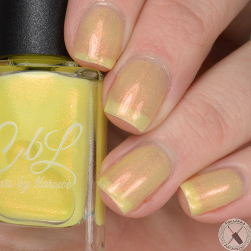 AVAILABLE AT GIRLY BITS COSMETICS www.girlybitscosmetics.com Banana Smoothie (Let's Head to the Beach Collection) by CbL | Photo credit: Polished Pathology