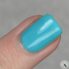 AVAILABLE AT GIRLY BITS COSMETICS www.girlybitscosmetics.com Azure Thing (Let's Head to the Beach Collection) by CbL   Photo credit: Polished Pathology
