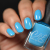 AVAILABLE AT GIRLY BITS COSMETICS www.girlybitscosmetics.com Banana Smoothie OVER Azure Thing (Let's Head to the Beach Collection) by CbL   Photo credit: @__erya__
