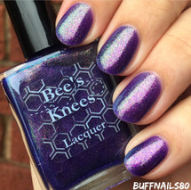 AVAILABLE AT GIRLY BITS COSMETICS www.girlybitscosmetics.com Skydancer (Rainbow Brite Collection) by Bee's Knees Lacquer   Photo credit: buffnails80