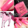 AVAILABLE AT GIRLY BITS COSMETICS www.girlybitscosmetics.com Sunriser (Rainbow Brite Collection) by Bee's Knees Lacquer | Photo credit: Polish and Paws