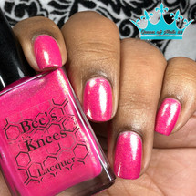 AVAILABLE AT GIRLY BITS COSMETICS www.girlybitscosmetics.com Sunriser (Rainbow Brite Collection) by Bee's Knees Lacquer | Photo credit: queenofnails83
