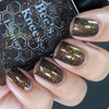 AVAILABLE AT GIRLY BITS COSMETICS www.girlybitscosmetics.com The Devil (Arcana Chronicles Collection) by Bee's Knees Lacquer | Photo credit:  @nailmedaily