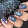 AVAILABLE AT GIRLY BITS COSMETICS www.girlybitscosmetics.com The Fool (Arcana Chronicles Collection) by Bee's Knees Lacquer | Photo credit:  @nailmedaily
