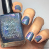 AVAILABLE AT GIRLY BITS COSMETICS www.girlybitscosmetics.com The Fool (Arcana Chronicles Collection) by Bee's Knees Lacquer | Photo credit:  @stuckonlacquer
