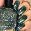 AVAILABLE AT GIRLY BITS COSMETICS www.girlybitscosmetics.com The World (Arcana Chronicles Collection) by Bee's Knees Lacquer | Photo credit:  @gurlynailz