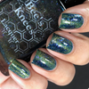 AVAILABLE AT GIRLY BITS COSMETICS www.girlybitscosmetics.com The World (Arcana Chronicles Collection) by Bee's Knees Lacquer | Photo credit:  @nailmedaily