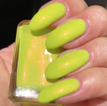 Toxic Limeade 3.0 by Shleee Polish available at Girly Bits Cosmetics www.girlybitscosmetics.com  | Photo courtesy of IG@shleeepolish