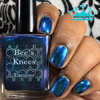 AVAILABLE AT GIRLY BITS COSMETICS www.girlybitscosmetics.com Aurora Borealis (Monthly Colours Collection) by Bee's Knees Lacquer | Photo credit: Queen of Nail 83