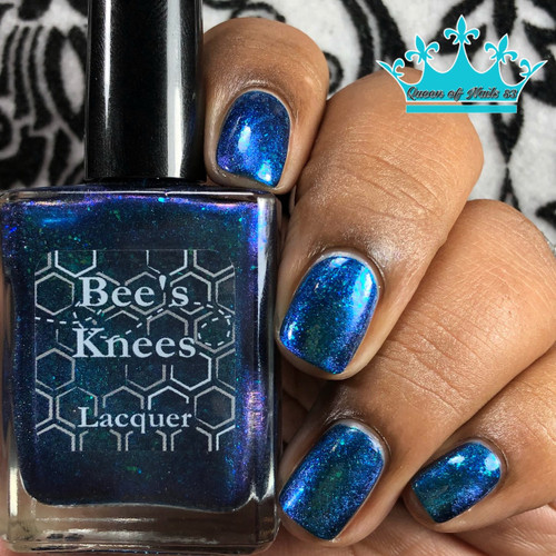 AVAILABLE AT GIRLY BITS COSMETICS www.girlybitscosmetics.com Aurora Borealis (Monthly Colours Collection) by Bee's Knees Lacquer   Photo credit: Queen of Nail 83