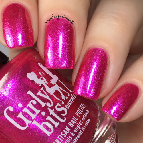 Girly Bits Cosmetics Slushie Lips & Tips (May 2018 CoTM)   Photo credit: Nail Experiments