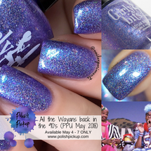 All the Wayans back in the 90's (Polish Pickup May 2018) by Girly Bits Cosmetics Exclusively at PolishPickup.com May 4-7/18