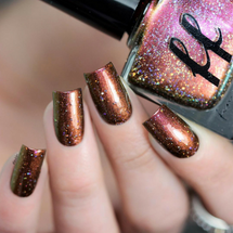 This Freckled Witch (Green Gables Collection) by Femme Fatale AVAILABLE AT GIRLY BITS COSMETICS www.girlybitscosmetics.com | Swatch courtesy of @laublm