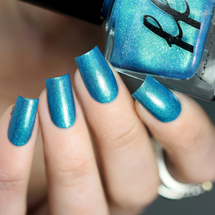 Lake of Shining Waters (Green Gables Collection) by Femme Fatale AVAILABLE AT GIRLY BITS COSMETICS www.girlybitscosmetics.com | Swatch courtesy of @laublm