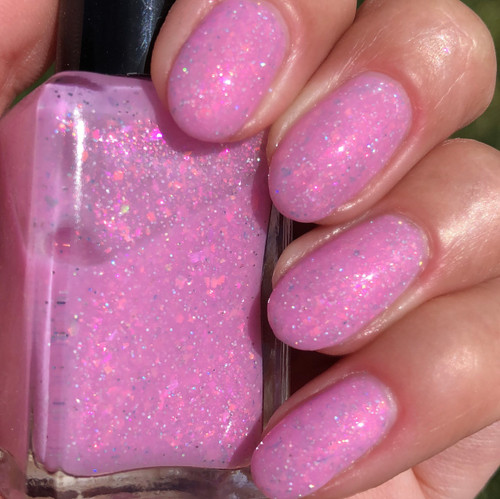 Candy Floss by Shleee Polish available at Girly Bits Cosmetics www.girlybitscosmetics.com  | Photo courtesy of IG@shleeepolish