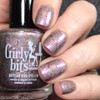 GIRLY BITS COSMETICS Pocket Full of Fairies (Road to Polish Con New York 2018 Series)  | Swatch courtesy of Snacks On Rotation