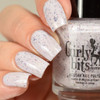 GIRLY BITS COSMETICS Not Plain White {Polish Con NY Limited Edition} | Swatch courtesy of Delishious Nails