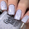 GIRLY BITS COSMETICS Not Plain White {Polish Con NY Limited Edition} | Swatch courtesy of Nail Experiments