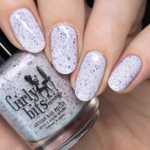 GIRLY BITS COSMETICS Not Plain White {Polish Con NY Limited Edition} | Swatch courtesy of Nail Polish Society