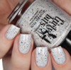 GIRLY BITS COSMETICS Not Plain White {Polish Con NY Limited Edition} | Swatch courtesy of Cosmetic Sanctuary