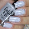 GIRLY BITS COSMETICS Not Plain White {Polish Con NY Limited Edition} | Swatch courtesy of Manicured & Marvelous