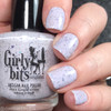 GIRLY BITS COSMETICS Not Plain White {Polish Con NY Limited Edition} | Swatch courtesy of IG@dsetterfield74