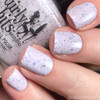 GIRLY BITS COSMETICS Not Plain White {Polish Con NY Limited Edition}   Swatch courtesy of IG@dsetterfield74