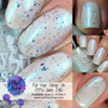 Put Your Strap On (Polish Pickup June 2018) by Girly Bits Cosmetics Exclusively at PolishPickup.com June 1-4/18  | Photo credit: Manicure Manifesto & Nail Experiments
