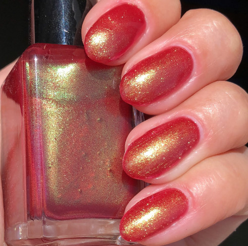 Poisoned Apple by Shleee Polish available at Girly Bits Cosmetics www.girlybitscosmetics.com  | Photo courtesy of IG@shleeepolish