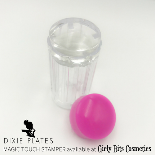 Dixie Magic Touch Stamper by Dixie Plates | Available at Girly Bits Cosmetics www.girlybitscosmetics.com
