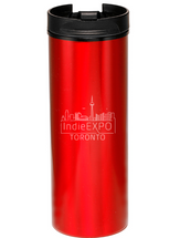 Indie Expo Slim Metallic Travel Tumbler (16oz)