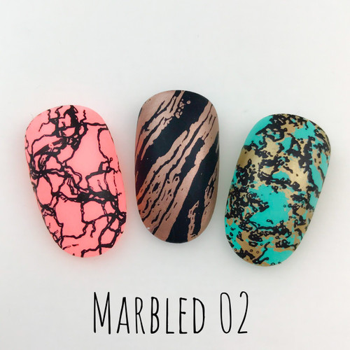 Marbled 02 - Dixie Plates | AVAILABLE AT GIRLY BITS COSMETICS www.girlybitscosmetics.com
