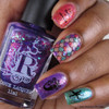 I Washed Up Like This (Sirens of Summer Collection) by Rogue Lacquer available at Girly Bits Cosmetics www.girlybitscosmetics.com  | Photo courtesy of One Hundred Brushes