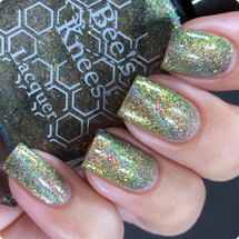 AVAILABLE AT GIRLY BITS COSMETICS www.girlybitscosmetics.com The Band of Exiles (A Court of Thorns and Roses Collection) by Bee's Knees Lacquer   Photo credit:  @nailmedaily