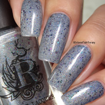 Puns of Steel - Shop Exclusive by Rogue Lacquer available exclusively at Girly Bits Cosmetics   Swatch courtesy of Intense Polish Therapy