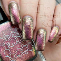 AVAILABLE AT GIRLY BITS COSMETICS www.girlybitscosmetics.com She Would Not Go Gently (A Court of Thorns and Roses Collection) by Bee's Knees Lacquer   Photo credit:  @thepolishedkoi