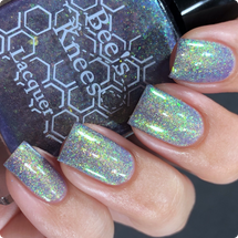 AVAILABLE AT GIRLY BITS COSMETICS www.girlybitscosmetics.com High Lady of the Night Court (A Court of Thorns and Roses Collection) by Bee's Knees Lacquer   Photo credit:  @nailmedaily