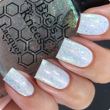 AVAILABLE AT GIRLY BITS COSMETICS www.girlybitscosmetics.com Hope (A Court of Thorns and Roses Collection) by Bee's Knees Lacquer   Photo credit:  @nailmedaily