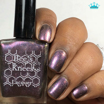 AVAILABLE AT GIRLY BITS COSMETICS www.girlybitscosmetics.com Young, Tough, and Morally Flexible (Deadpool Collection) by Bee's Knees Lacquer | Photo credit: Queen of Nails 83