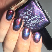 AVAILABLE AT GIRLY BITS COSMETICS www.girlybitscosmetics.com Young, Tough, and Morally Flexible (Deadpool Collection) by Bee's Knees Lacquer   Photo credit: IG @buffnails80