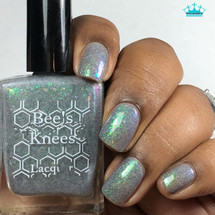 AVAILABLE AT GIRLY BITS COSMETICS www.girlybitscosmetics.com Luck Isn't a Superpower (Deadpool Collection) by Bee's Knees Lacquer   Photo credit: Queen of Nails 83
